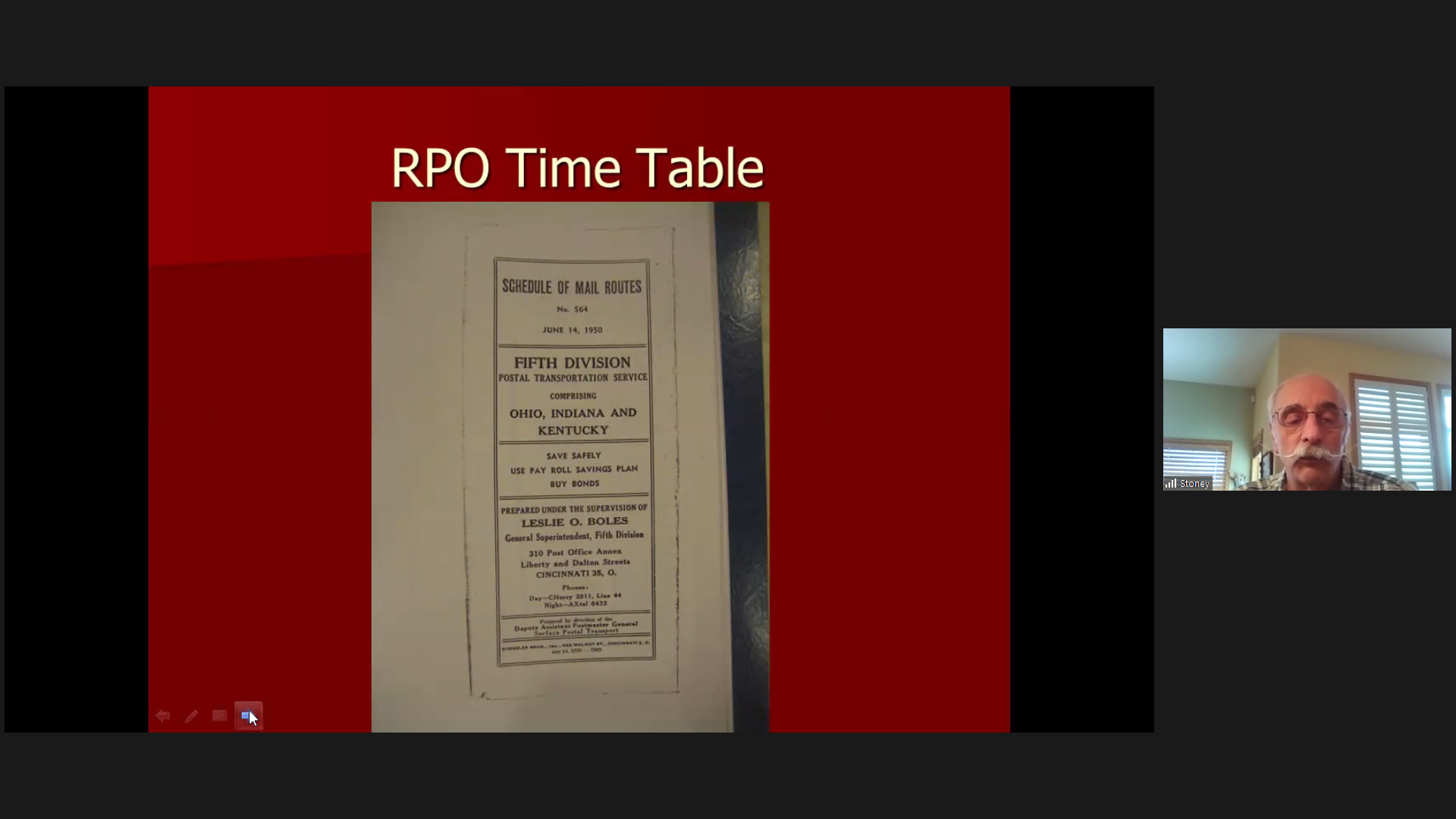 RPO Time Tables
