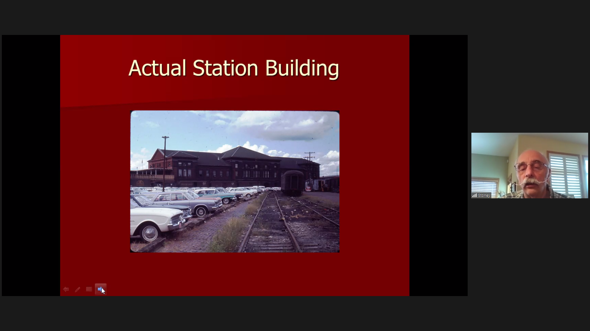 Actual Station Building